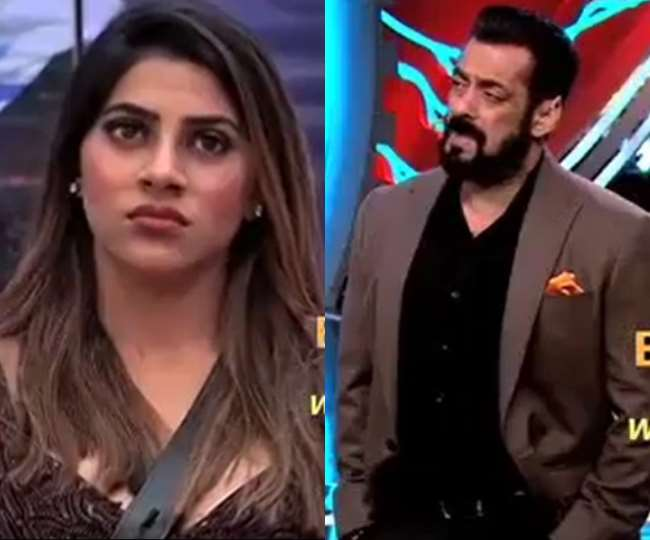 bigg-boss-14-salman-khan-scolded-nikki-tamboli-for